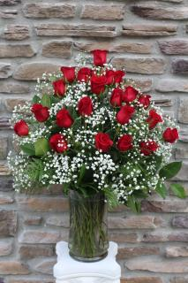 Roses Supreme - 2 Dozen Red