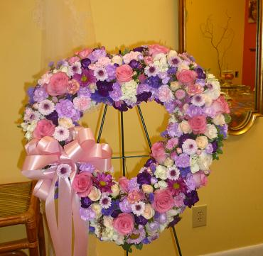Eternal Bond Heart Wreath