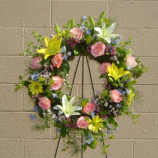 Spring Eternal Wreath