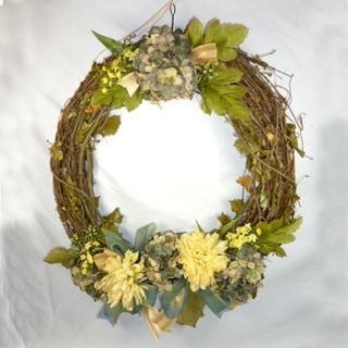 Autumn Elegance Wreath