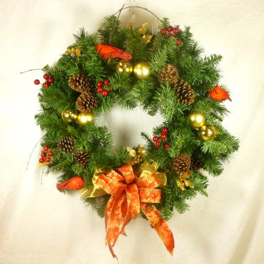 Deluxe Holiday Wreath