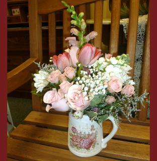 Rambling Rose Jug