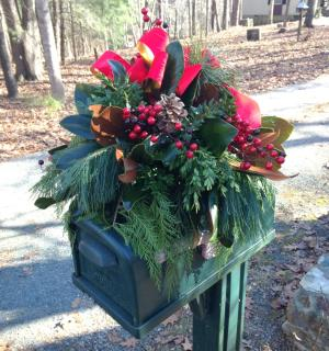 Holiday Mailbox Topper